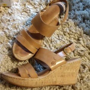 Women Born Amabel brown sandels heels